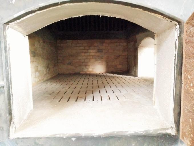 Frame Pintu Boiler Dengan Cor Castable