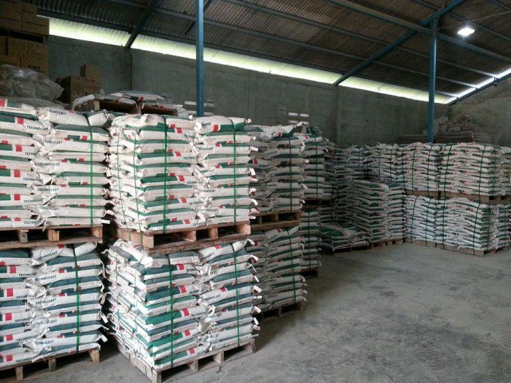 Pabrik Castable Tahan Api & Tahan Suhu Tinggi