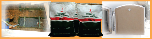 Produk Technocast Conventional Castable