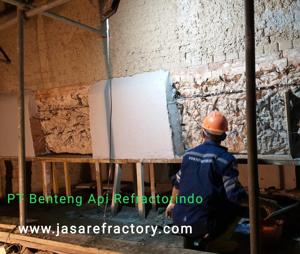 Jasa Pasang Refractory Castable
